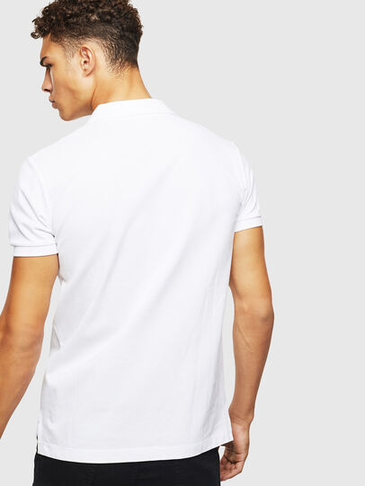Diesel - T-POLZIP-POCKETS-J1, White - Polos - Image 2