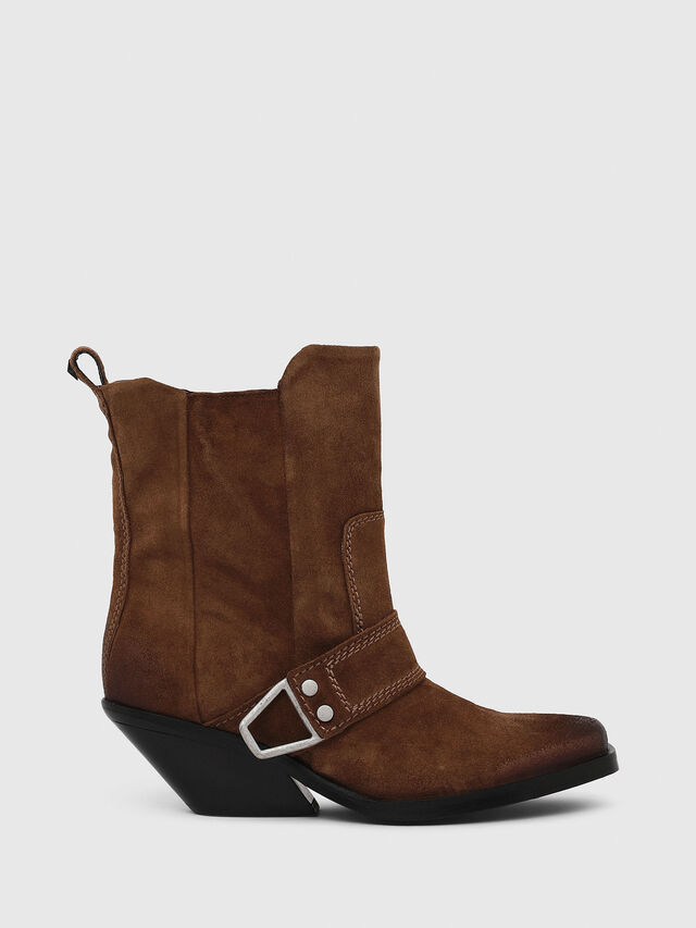 Diesel - D-GIUDECCA MA, Brown - Ankle Boots - Image 1
