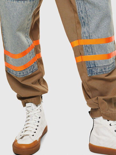 Diesel - P-CARUSO, Light Brown - Pants - Image 6