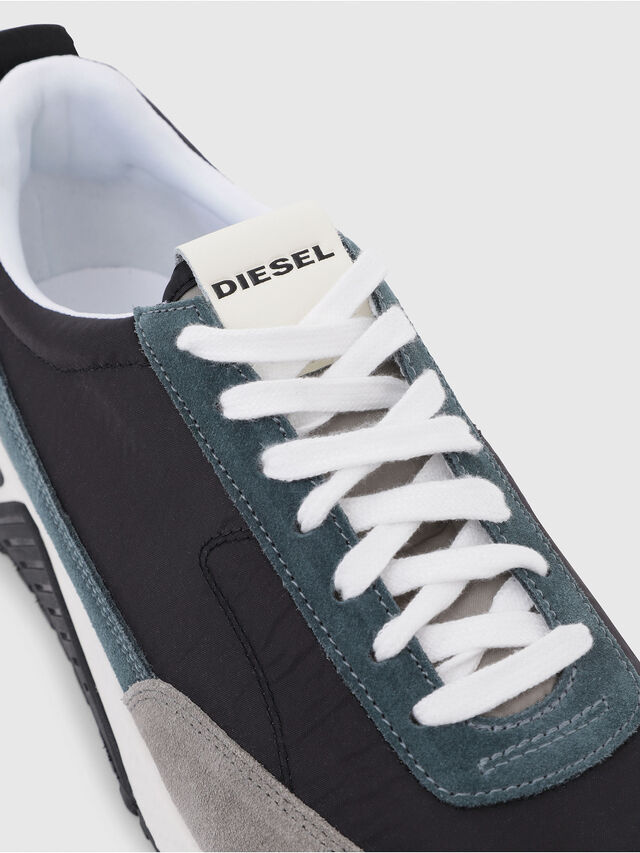 Diesel - S-KB LOW LACE, Grey/Blue - Sneakers - Image 5