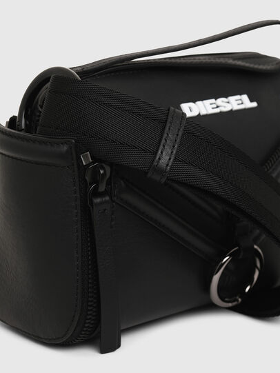 Diesel - LE-ZIPPER CROSSBODY, Black - Crossbody Bags - Image 6