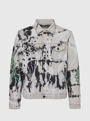 NHILL-SP3, Black/White - Denim Jackets