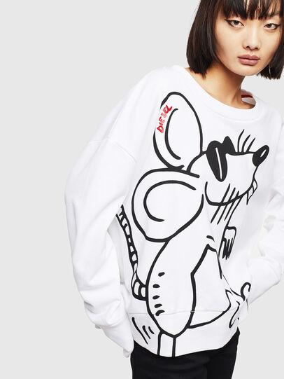 Diesel - CL-F-MAGDA-BIGM, White - Sweaters - Image 3