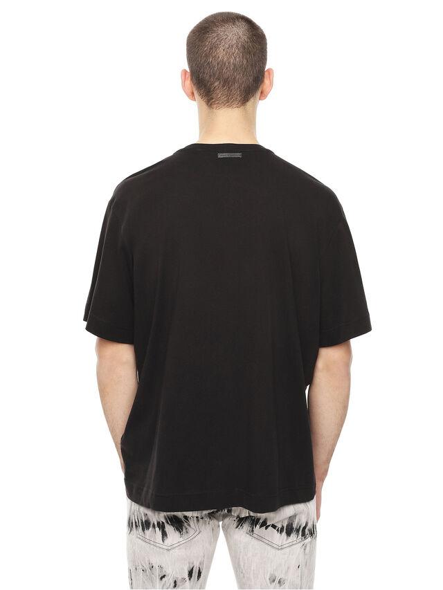 Diesel - TEORIAL-HUNTING, Black - T-Shirts - Image 2
