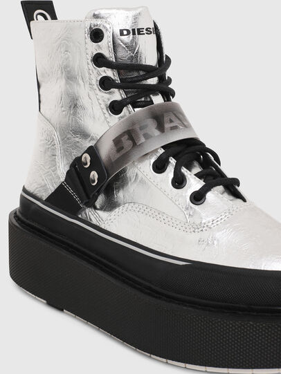 Diesel - H-SCIROCCO STRAP, Silver - Sneakers - Image 4