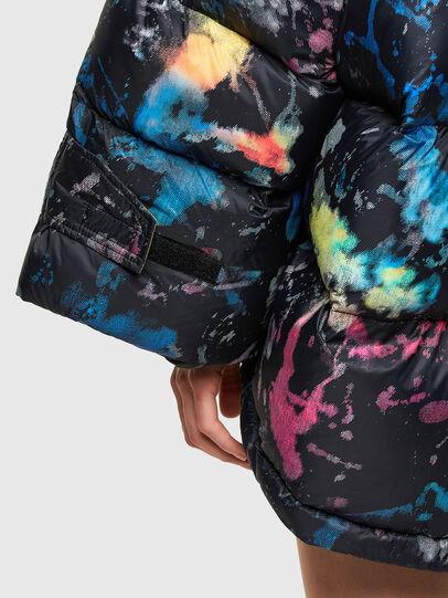 Diesel - W-JANUA, Black - Winter Jackets - Image 5