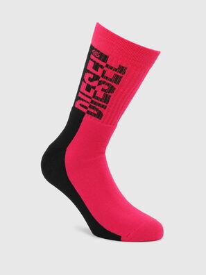 SKM-RAY, Pink/Black - Socks