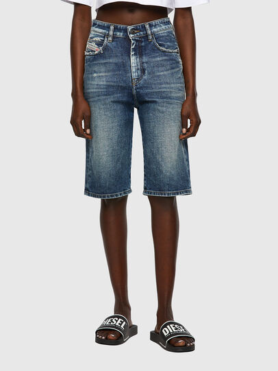 Diesel - DE-LILY-SP, Medium blue - Shorts - Image 1