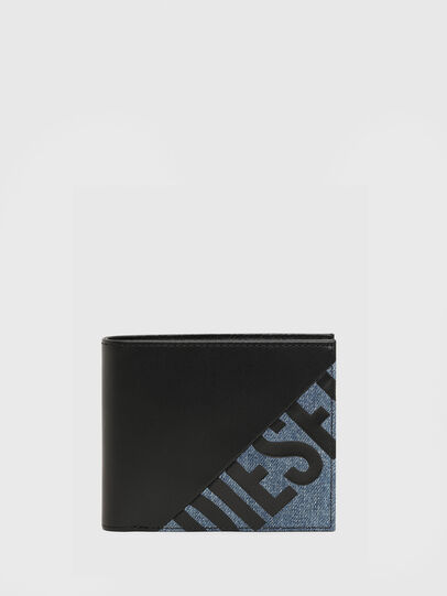 Diesel - HIRESH S, Black/Blue - Small Wallets - Image 1