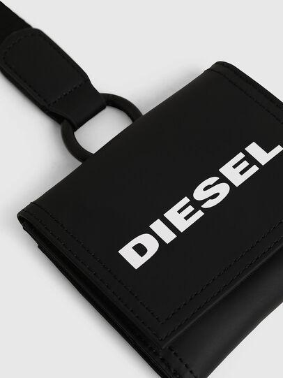 Diesel - YOSHINO LOOP, Black - Small Wallets - Image 4