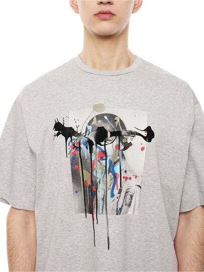 Diesel - TEORIA-MELTINGSOLDIE,  - T-Shirts - Image 3