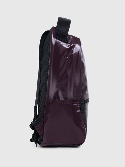 Diesel - F-BOLD BACK FL II, Dark Violet - Backpacks - Image 3