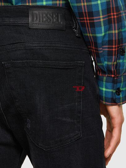 Diesel - D-Amny 0092B, Black/Dark grey - Jeans - Image 3