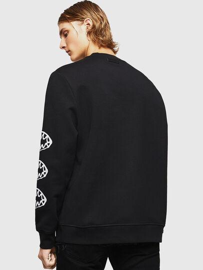 Diesel - SNEILB-X1, Black - Sweaters - Image 2