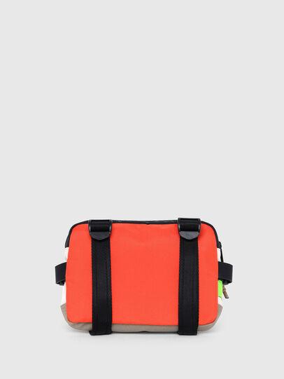 Diesel - DRESSLEK, White/Orange - Crossbody Bags - Image 2