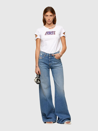 Diesel - T-BULLOCK-A2, White - T-Shirts - Image 5