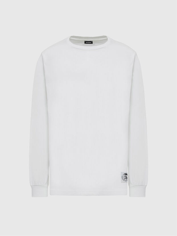 T-JUST-LS-MOHI, White - T-Shirts