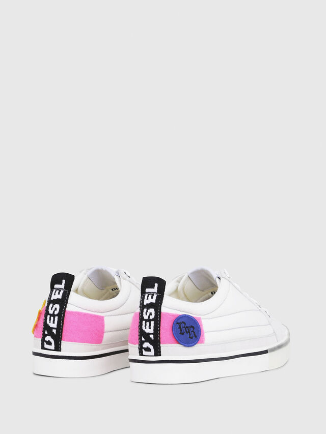Diesel - D-VELOWS LOW PATCH W, White - Sneakers - Image 3