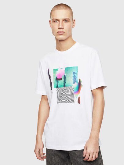Diesel - T-JUST-T25, White - T-Shirts - Image 1