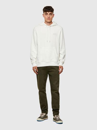 Diesel - S-GIRK-HOOD-C.C, White - Sweaters - Image 4
