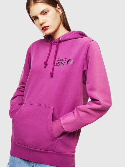 Diesel - S-GIRK-HOOD-SUN, Lilac - Sweaters - Image 2