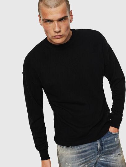 Diesel - K-LETO, Black - Knitwear - Image 1