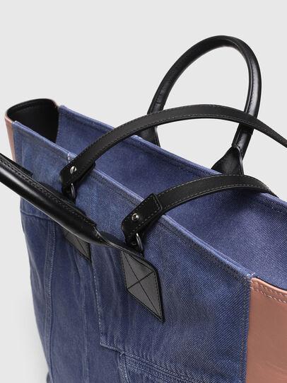 Diesel - LEENA L, Blue/Pink - Shopping and Shoulder Bags - Image 7