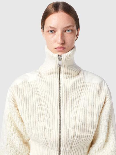 Diesel - M-WISCONSIN, White - Knitwear - Image 3