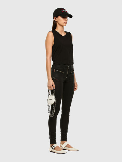 Diesel - Slandy 069JT, Black/Dark grey - Jeans - Image 7