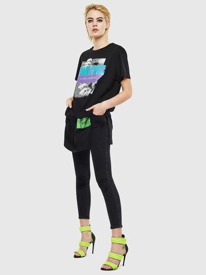Diesel - T-SHALIE, Black - T-Shirts - Image 6