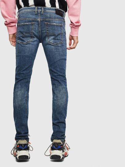 Diesel - Sleenker 069LI, Dark Blue - Jeans - Image 2
