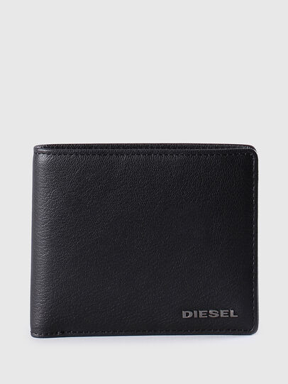 Diesel - NEELA S, Black Leather - Small Wallets - Image 1