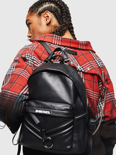 Diesel - LE-ZIPPER BACKPACK,  - Backpacks - Image 7
