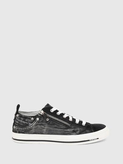 Diesel - EXPO-ZIP LOW W, Black Jeans - Sneakers - Image 1