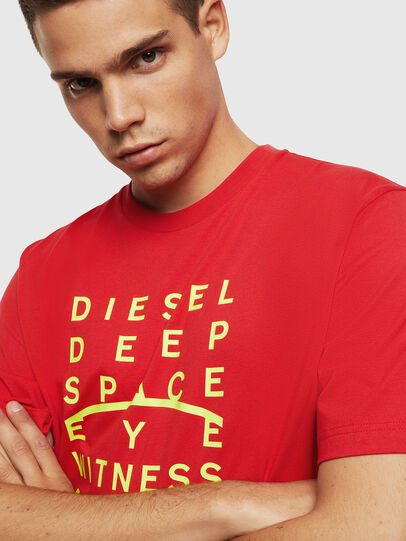 Diesel - T-JUST-J5, Red - T-Shirts - Image 3