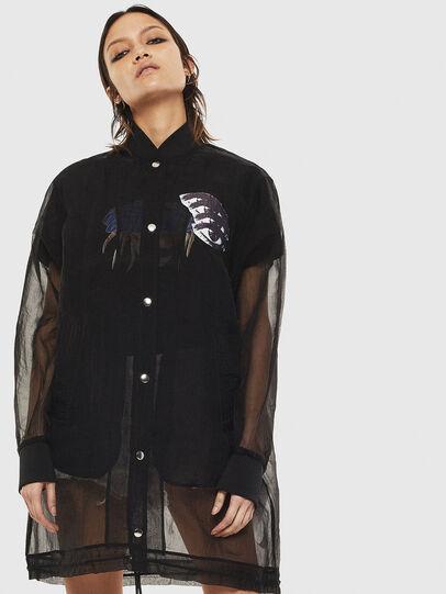 Diesel - G-CLAY, Black - Jackets - Image 1