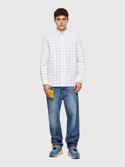 Diesel - S-RILEY-TM-LS, White - Shirts - Image 4