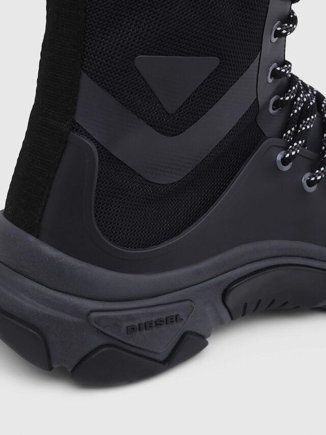 Diesel - S-KIPPER MID LACE, Black - Sneakers - Image 4