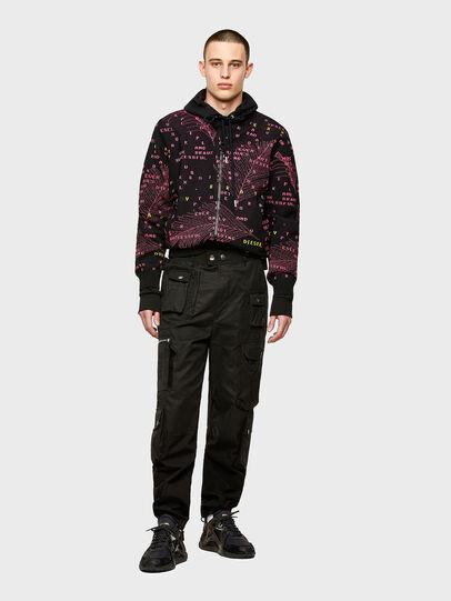 Diesel - K-OREGON, Black/Pink - Knitwear - Image 4