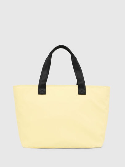 Diesel - F-BOLD SHOPPER II, Light Yellow - Shopping and Shoulder Bags - Image 2