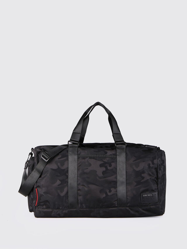 Diesel F-DISCOVER DUFFLE, Black - Travel Bags - Image 1