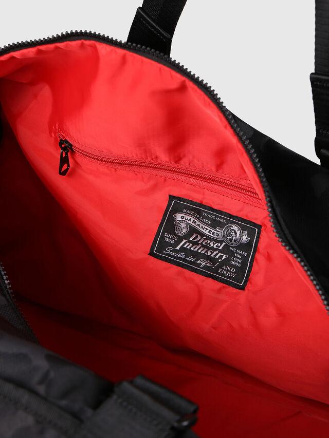 Diesel F-DISCOVER DUFFLE, Black - Travel Bags - Image 5