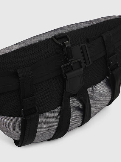 Diesel - TRIBELT, Gray/Black - Belt bags - Image 5