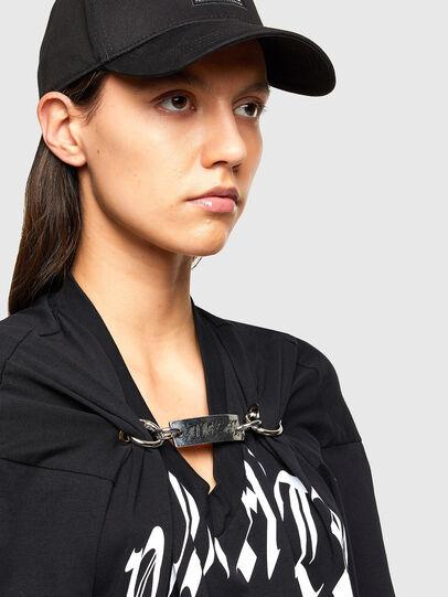 Diesel - T-ALHOOK, Black - T-Shirts - Image 3