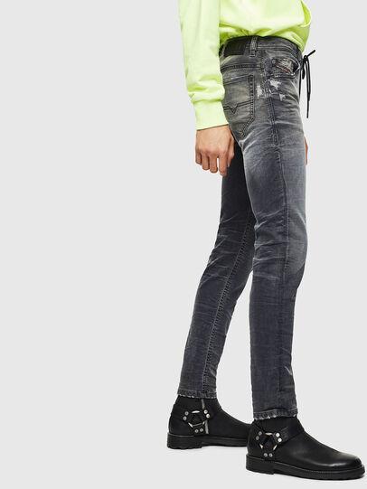 Diesel - Thommer JoggJeans 069KK, Black/Dark grey - Jeans - Image 4