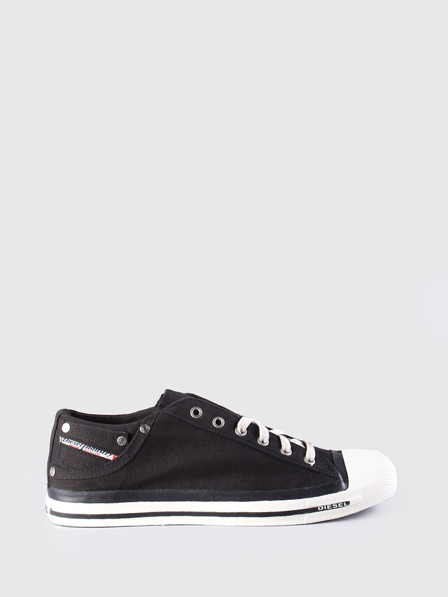 Diesel - EXPOSURE LOW, Black - Sneakers - Image 1