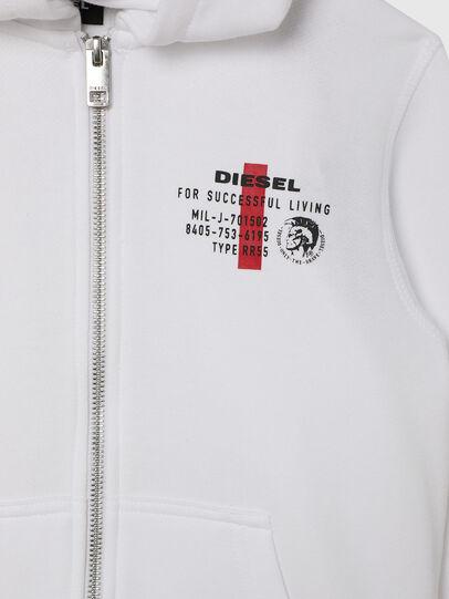 Diesel - UMLT-SBRANDONZ, White - Sweaters - Image 3