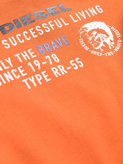 Diesel - TDIEGOXB, Orange - T-shirts and Tops - Image 3