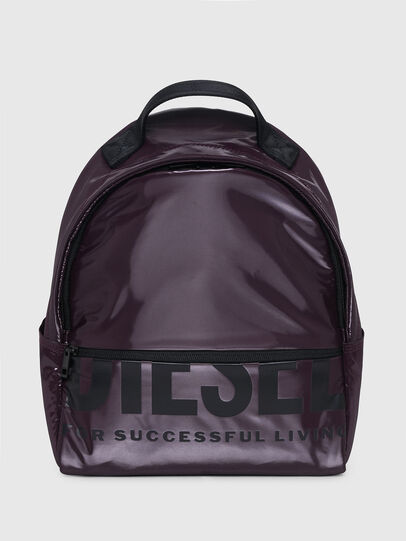 Diesel - F-BOLD BACK FL II, Dark Violet - Backpacks - Image 1