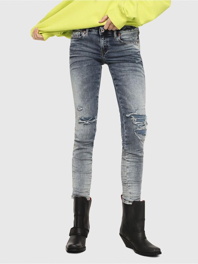 Diesel - Gracey JoggJeans 069FC, Light Blue - Jeans - Image 1